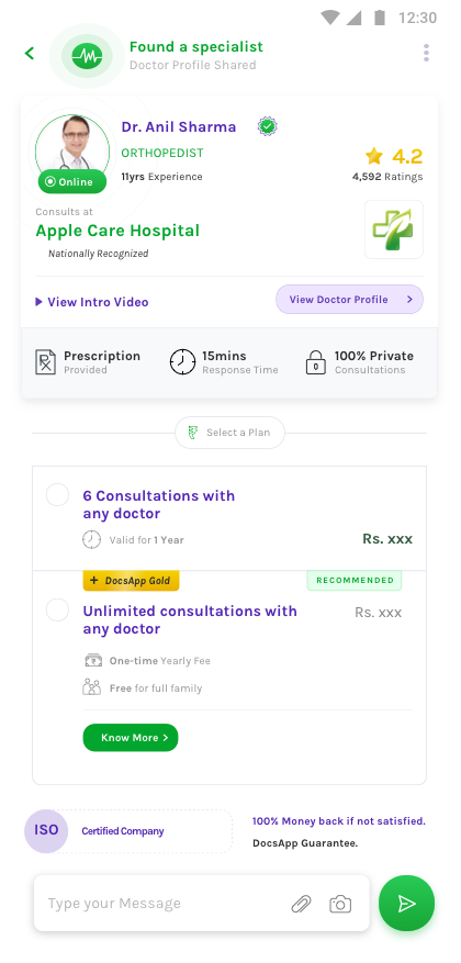 DocsApp - Online Doctor App, Consult Doctor on Chat & Call